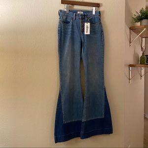 Wrangler Wide Leg Flare Jeans 70's Style